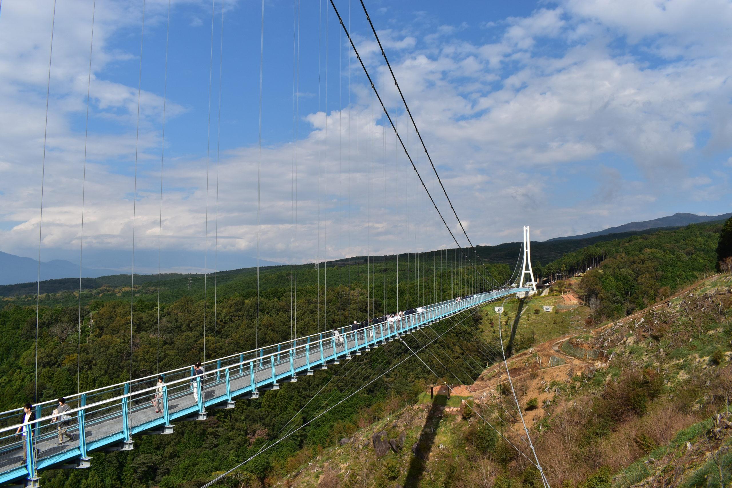 日本一の大吊橋!静岡県の三島スカイウォークへの行き方