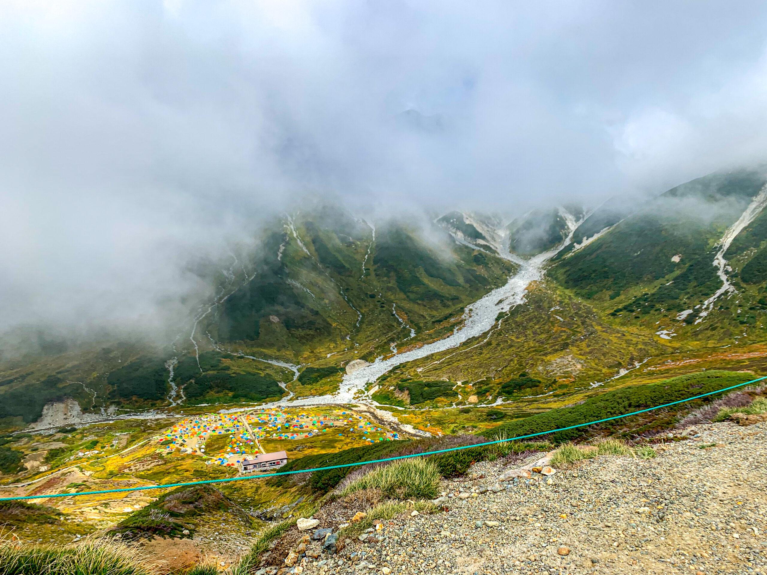 立山にある数々の山頂へ向かうハイカー達のベースキャンプ!富山県の雷鳥沢キャンプ場への行き方!