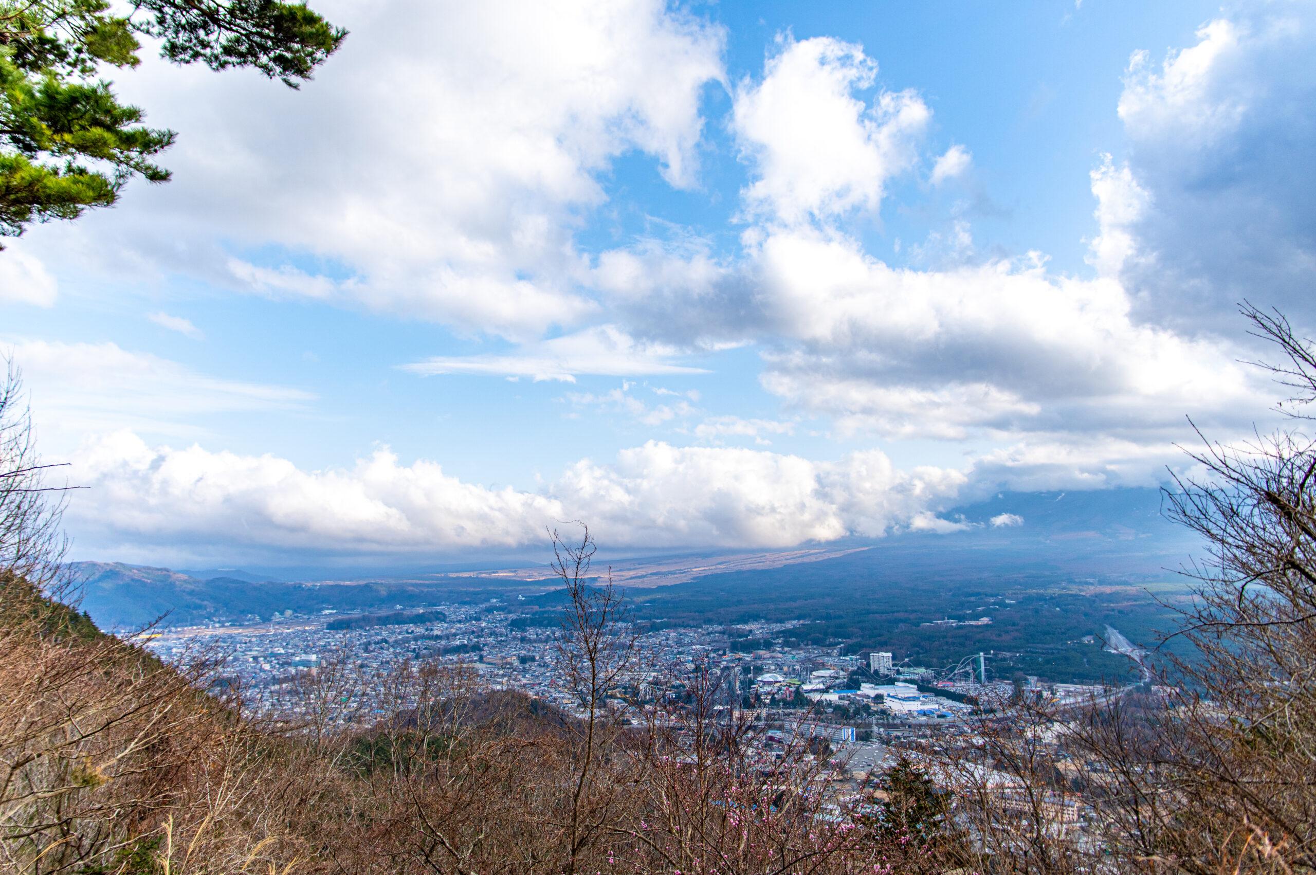 山梨県 河口湖天上山公園
