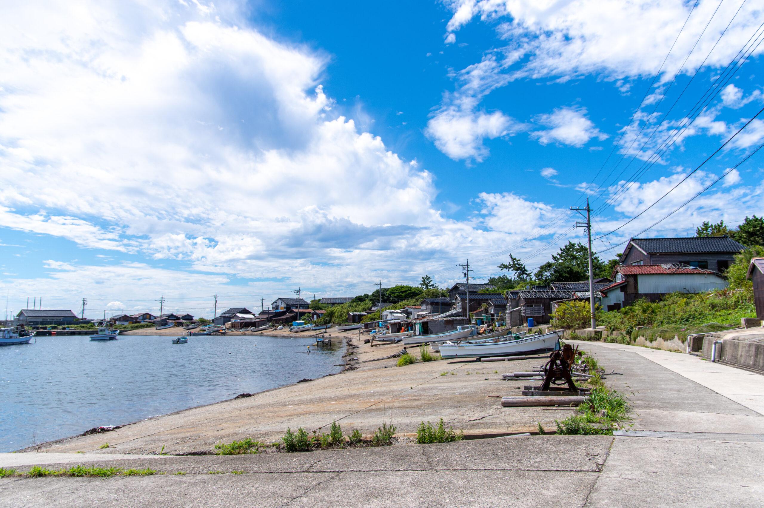 船は1日1本とアクセスが難しい!能登半島より北にある孤島、石川県の舳倉島への行き方。